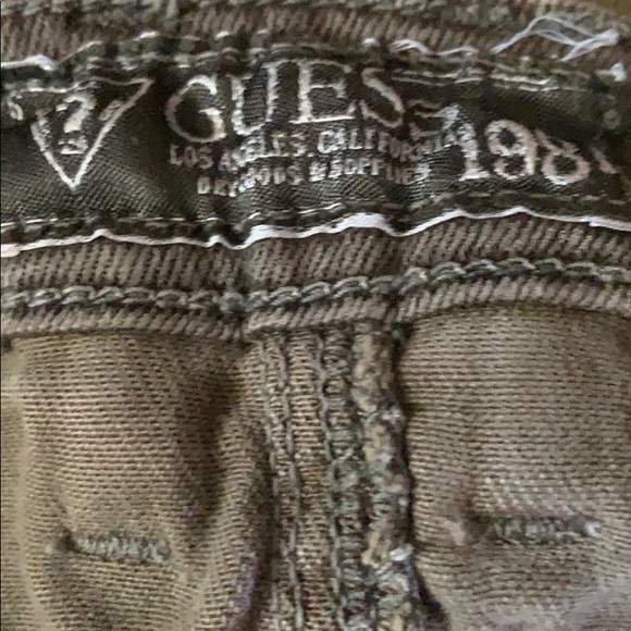 Guess Denim - Camouflage Guess pants.